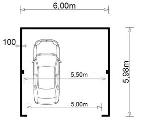 Šířka garážových vrat